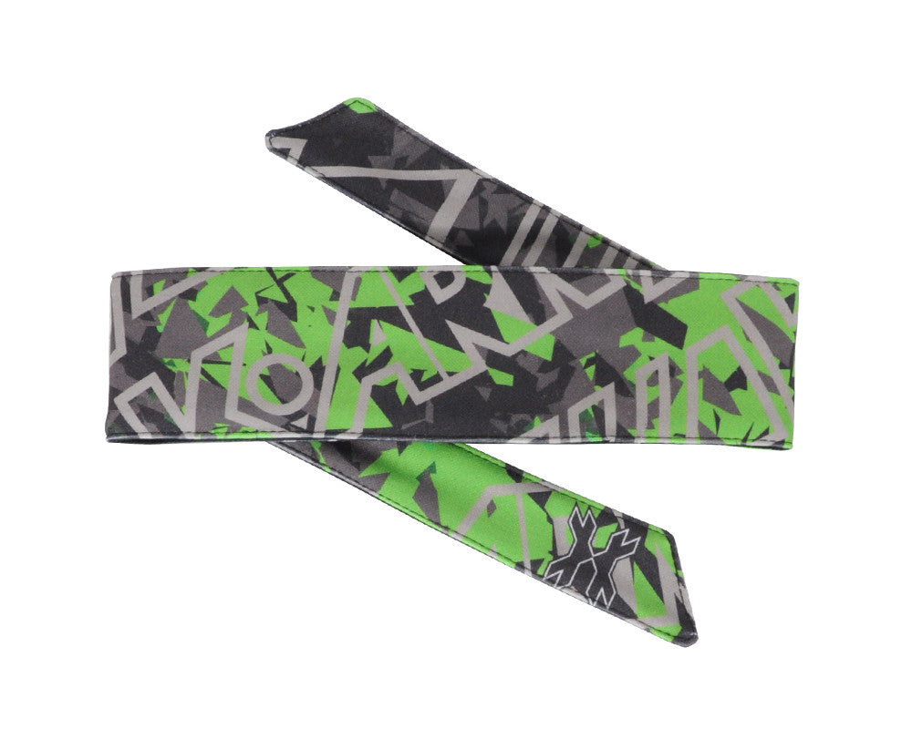 HK Army Headband - Shards Lime