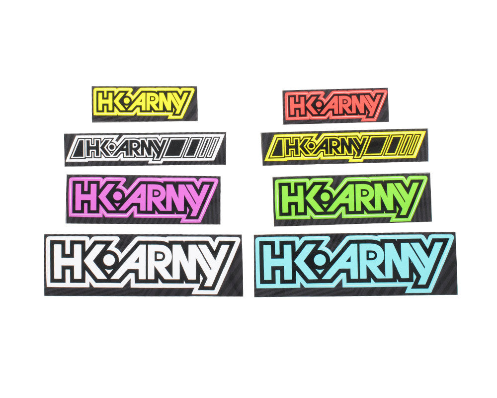 HK Army Race Sticker Pack - 8 Stickers