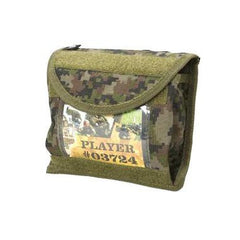 BT Universal ID Pouch Paintball Harness - Woodland Digi