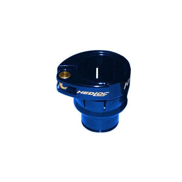 Hybrid Hedloc Ion Low Rise Feed Neck - Blue