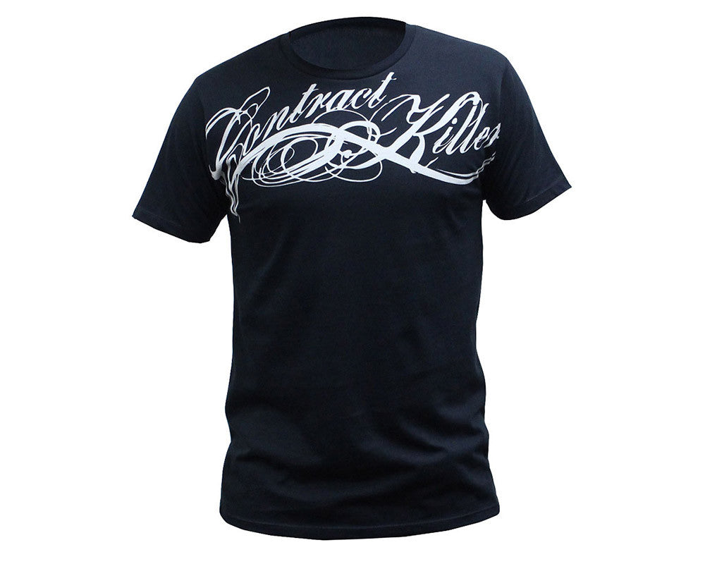 Contract Killer OG Script T-Shirt - Black