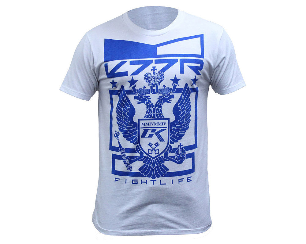 Contract Killer Solid Crest T-Shirt - White