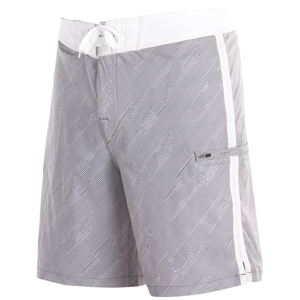 2011 Dye Hypnotic Board Shorts - White/Grey