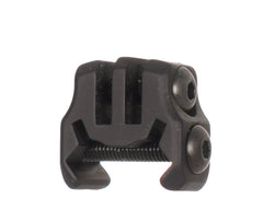 Inception Designs Invader XL GoPro Picatinny Rail Mount - Dust Black