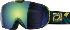 Dye T1 Trinity Snowboard Goggles w/ Additional Lens - Northern Lights