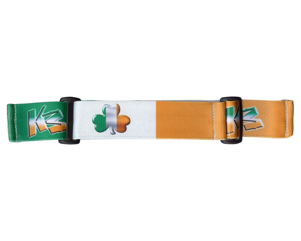 KM Paintball Goggle Strap - Irish Flag