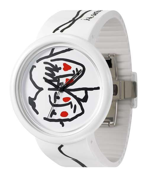 JCDC Time Gallery - White - Watch