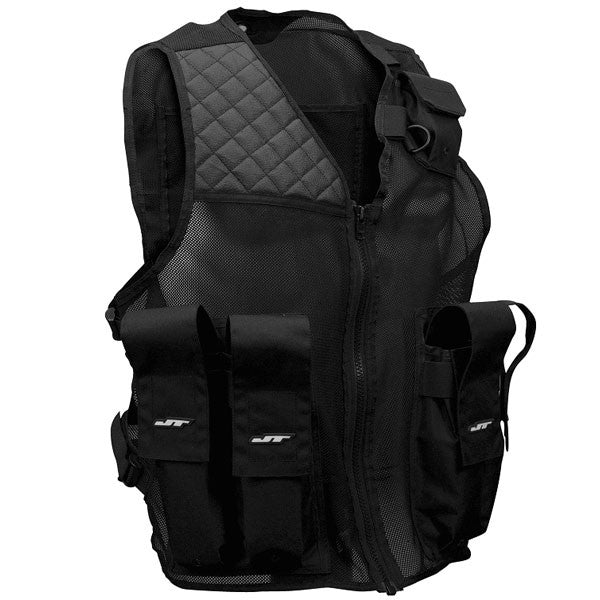 JT Tactical Paintball Vest - Black