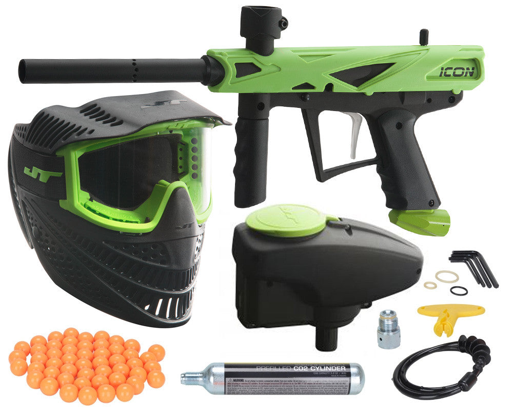 JT E-Icon Paintball Gun Mega Kit