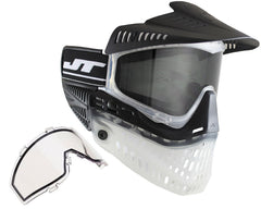 Jt ProFlex Thermal Paintball Mask - 2.0 Limited Edition Black/Clear/Black w/ Black Visor