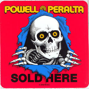 Powell Peralta Ripper Dealer - Sticker