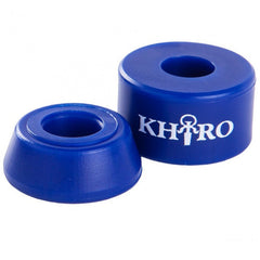 Khiro Barrel Bushing Without Washers - Blue - 85a - Skateboard Bushings (2 PC)