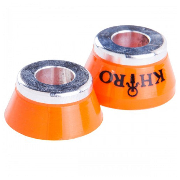 Khiro Insert Bushings Mild Soft - 79a - Orange - Skateboard Bushings (2 PC)