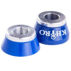 Khiro Insert Bushings Soft - 85a - Blue - Skateboard Bushings (2 PC)