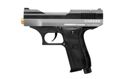 Kingman Training Chaser 43 Caliber Paintball Pistol - Silver