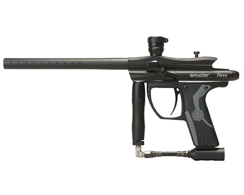 2012 Kingman Spyder Fenix Electronic Paintball Gun - Diamond Black
