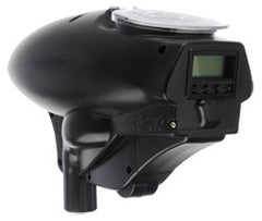 Kingman Fasta LCD 18v Paintball Loader - Black