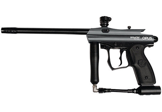 Kingman Spyder Opus .50 Caliber Paintball Gun - Silver Grey