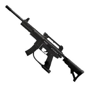 Kingman Spyder Stormer .50 Caliber Paintball Gun - Black