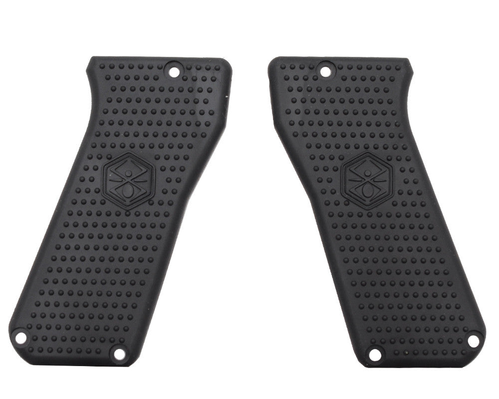 Kingman Spyder MR100 Rubber Grip Cover 12 (Black) (GRP004)