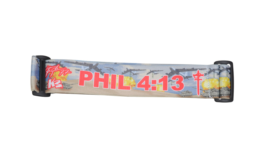KM Paintball Goggle Strap - 09 Phil 4:13