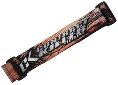 KM Paintball Goggle Strap - 09 Contract Killer Wood