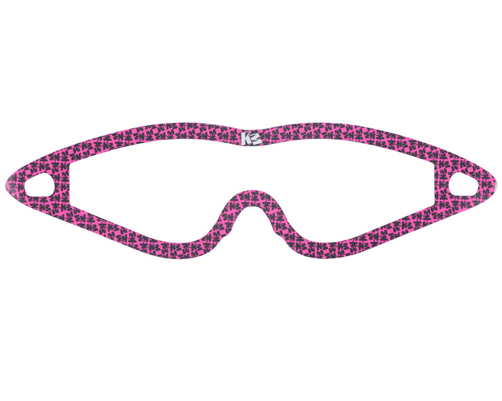 KM Paintball Mask Wraps - Event Lens - All Over Pink
