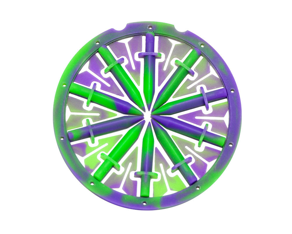 KM Rotor Dagger Spine Feed System - Purple Haze