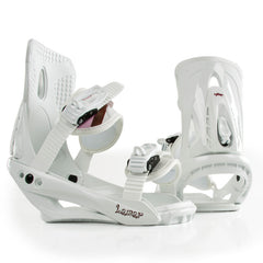 Lamar V1 2010 - Youth White Snowboard Bindings