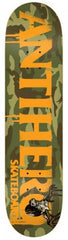 Anti-Hero Cowhorn MD - Camo/Orange - 8.12 - Skateboard Deck