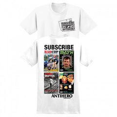 Anti-Hero Issues #1 S/S - White - T-Shirt
