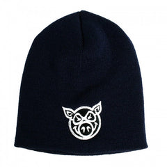 Pig Head - Black - Men's Beanie