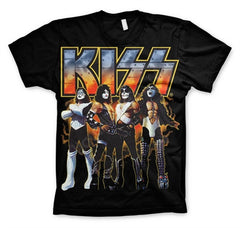 KISS Love Gun - Black - Band T-Shirt