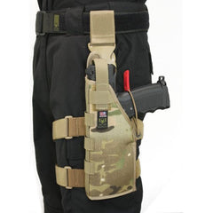 Full Clip Holster Thigh Rig - Left - Multicam