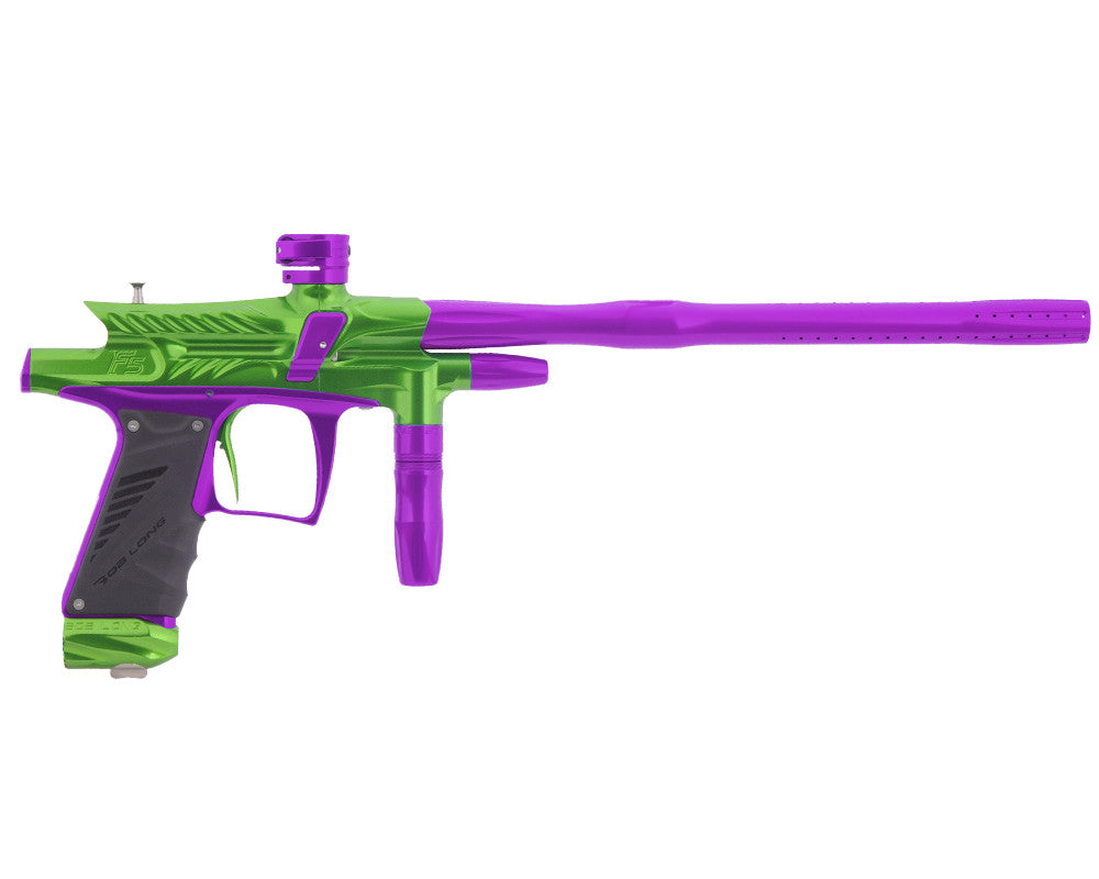 2012 Bob Long G6R F5 OLED Intimidator - Lime/Purple