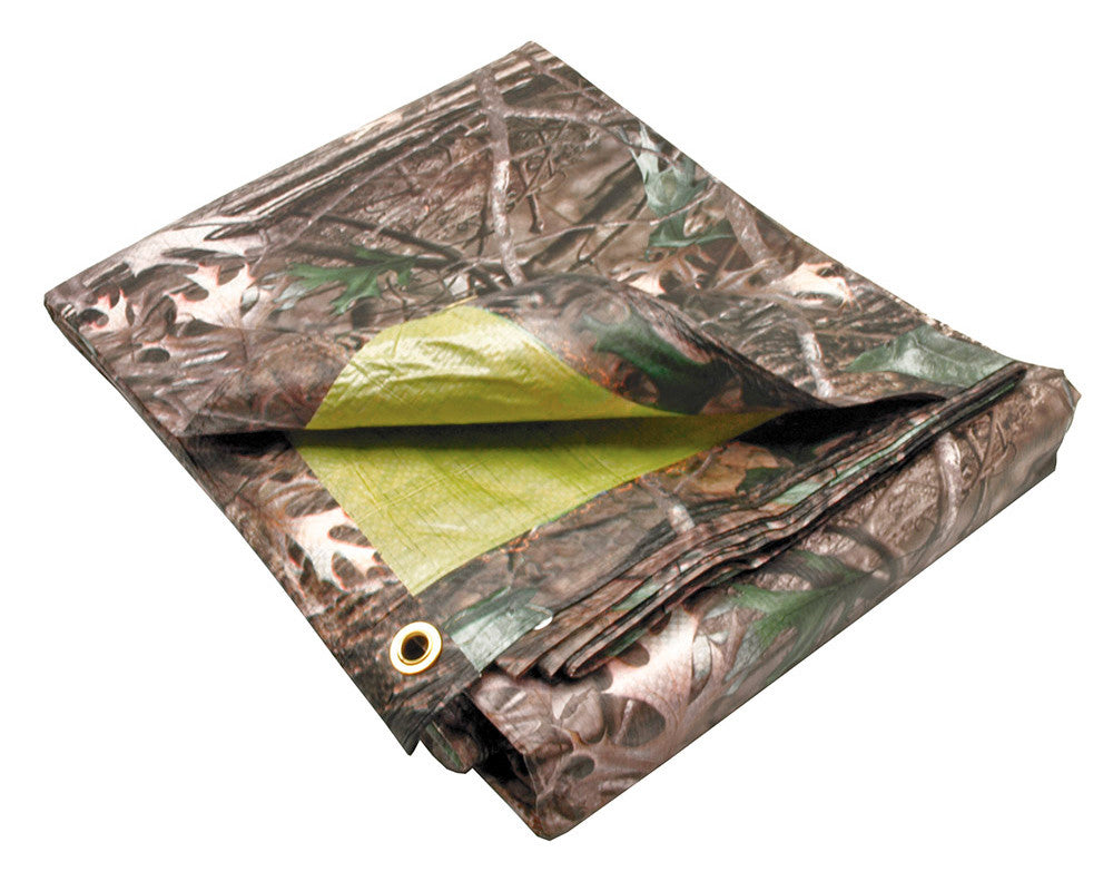 8' X 12' Lost Woods Tree Camo Tarp
