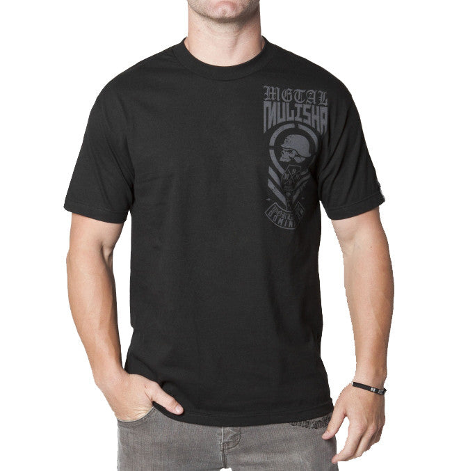 Metal Mulisha Blue Collar T-Shirt - Black - Mens T-Shirt