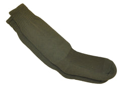 Military Style Long Socks - Olive