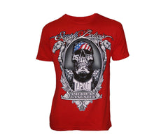 Tapout T-Shirt Chael Sonnen American Gangster - Red