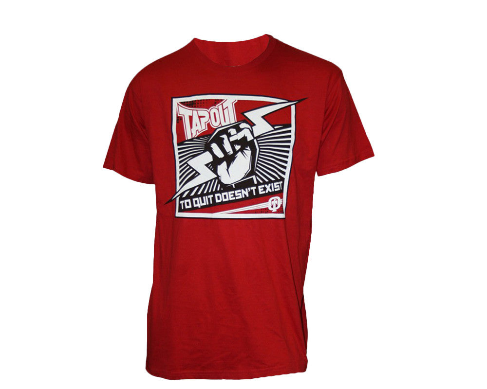 Tapout T-Shirt Power - Red/White/Black