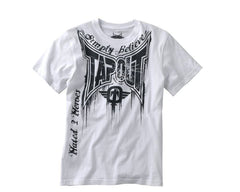 Tapout T-Shirt Train or Die - White