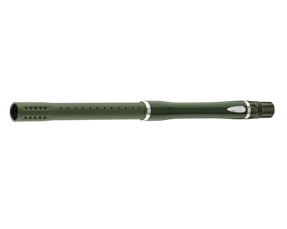 "Dye Glass Fiber 2 Piece Boomstick Barrel - Autococker Thread - 15"" Length - .684 Bore - Olive"
