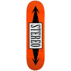 Stereo Arrow - Orange - 8.3 - Skateboard Deck