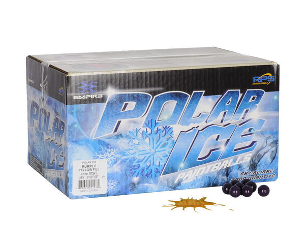 Empire Polar Ice Paintballs Case 2000 Rounds - Orange Fill