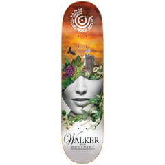 Organika Ryan Inner State - White/Orange - 8.25 - Skateboard Deck