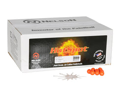 Nelson Hot-Spot Paintballs Case 2000 Rounds - White Fill