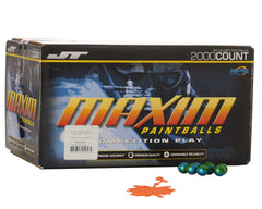 JT Maxim Paintballs Case 2000 Rounds - Orange Fill