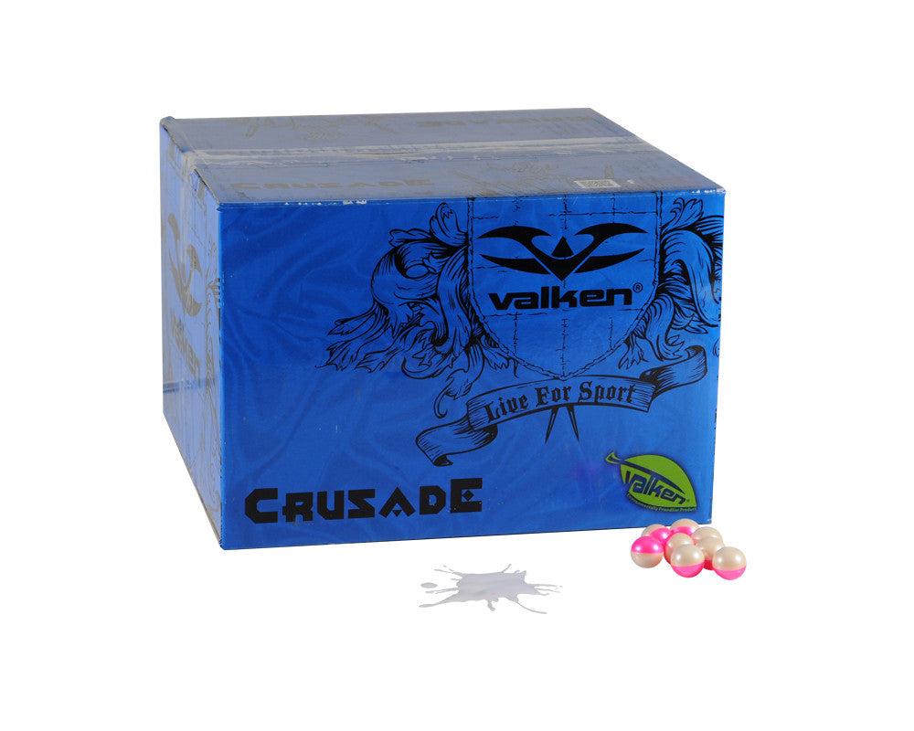 Valken Crusade Paintball Case 2000 Rounds - White Fill