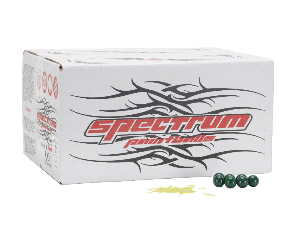 XO Spectrum Paintballs Case 2000 Rounds - Yellow Fill