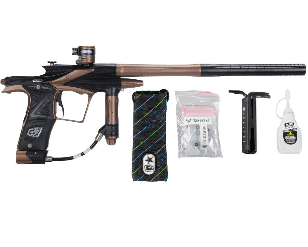 Planet Eclipse 2011 Ego Paintball Gun - Black/Brown